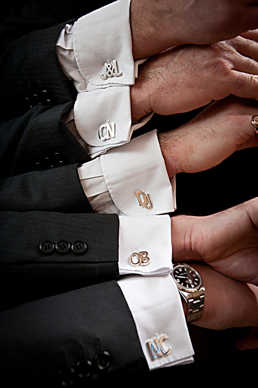 double initial cufflinks cufflinks